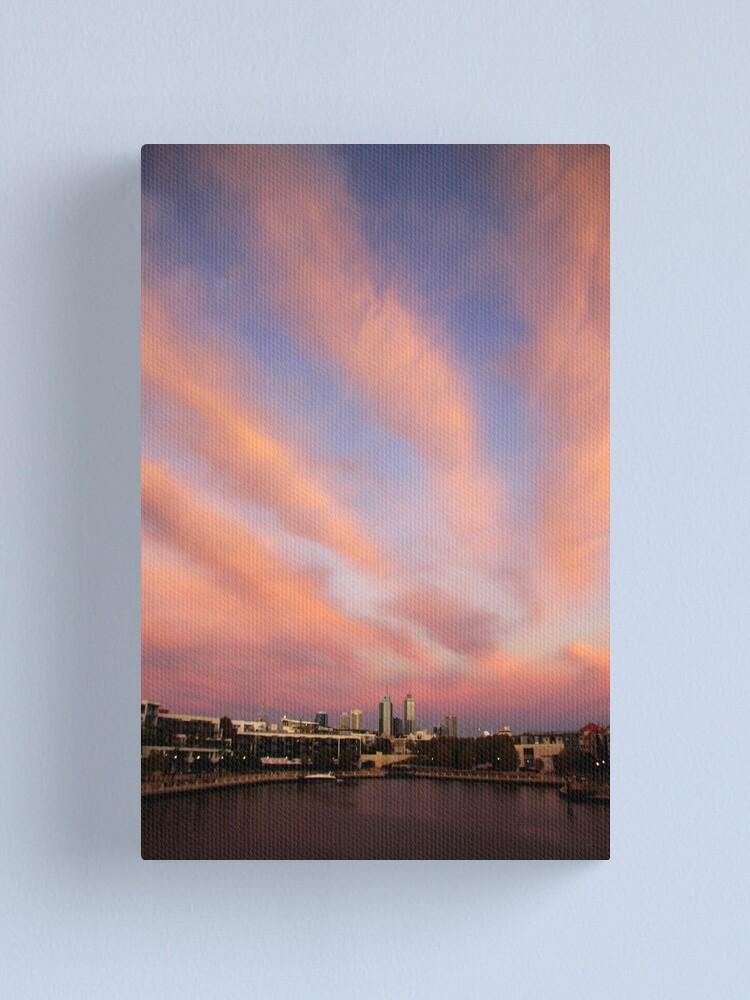 Alternate view of Perth City Skyscape Canvas Print