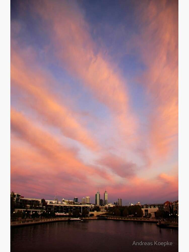 Perth City Skyscape by mistered