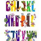 Swedish Alphabet by annahedeklint