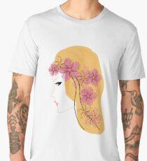Girl - spring. Men's Premium T-Shirt