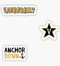 Vanderbilt University Minis Sticker