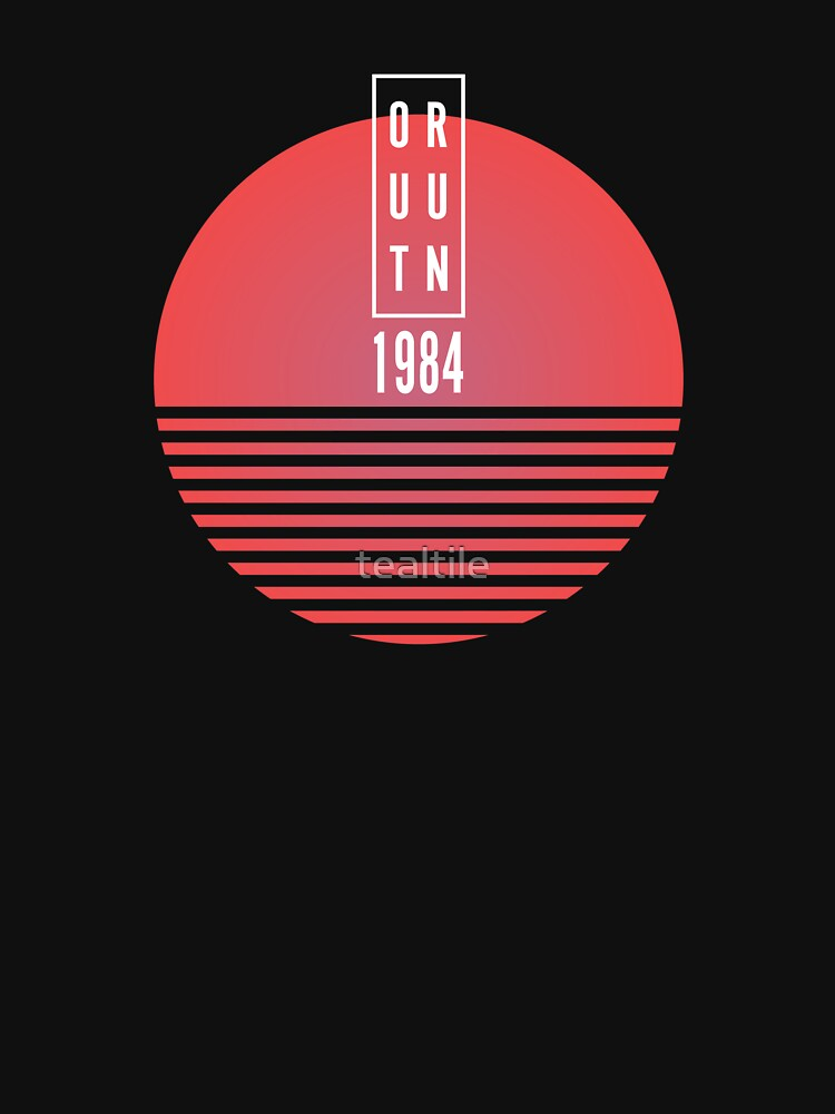 1984 OUTRUN by tealtile