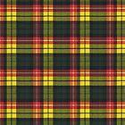 Buchanan M Original Scottish Tartan by Vickie Emms