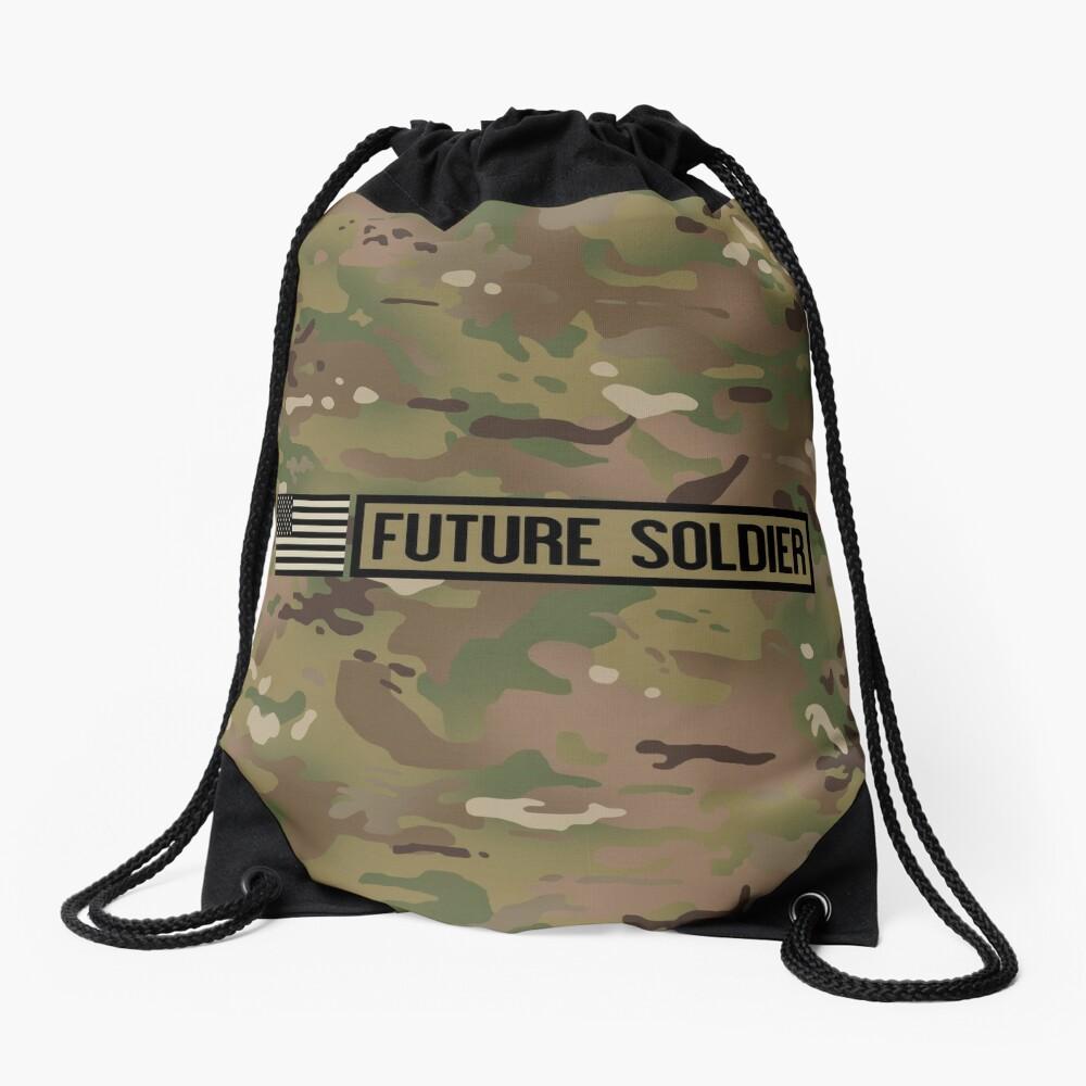 Military: Future Soldier Drawstring Bag
