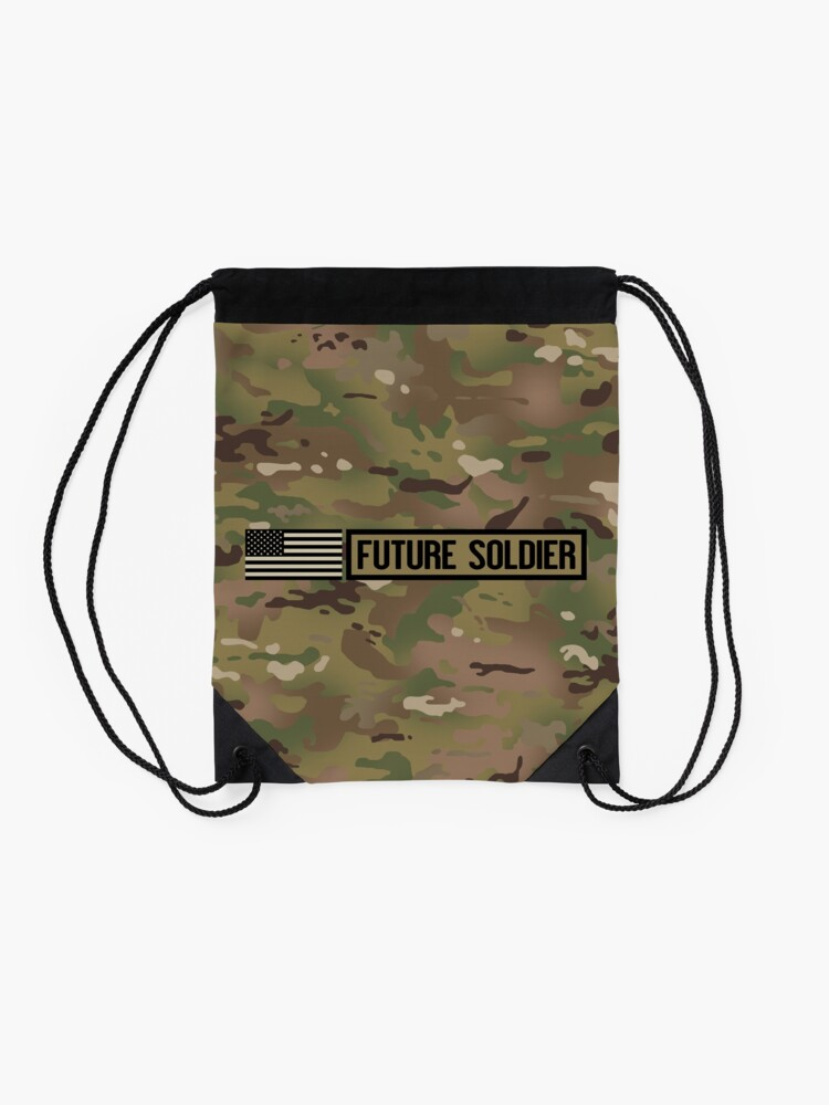 Alternate view of Military: Future Soldier Drawstring Bag
