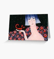 Zodiac - Scorpio Greeting Card