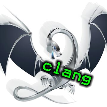 metal dragon of clang, a C language family frontend for LLVM by UnitShifter
