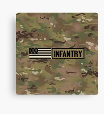 Military: Infantry Canvas Print