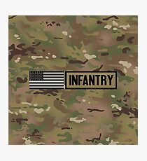 Military: Infantry Photographic Print