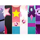 Crystal Gems by kickingshoes