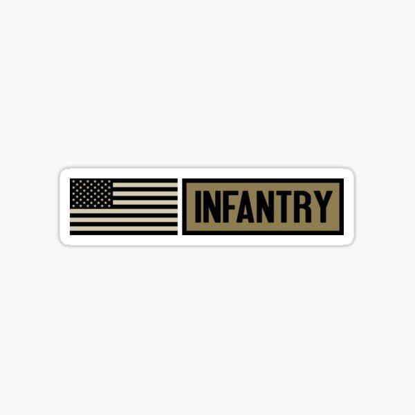 Military: Infantry Sticker