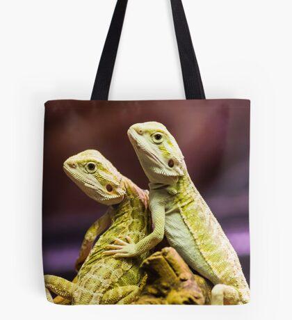 Lizards in Love Tote Bag