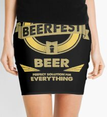 The Perfect Solution - BEER Mini Skirt