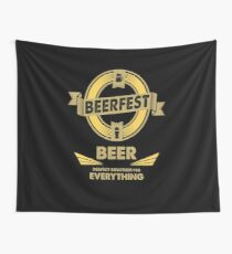 The Perfect Solution - BEER Wall Tapestry