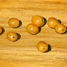 Bite-size golden tomatoes by bernzweig