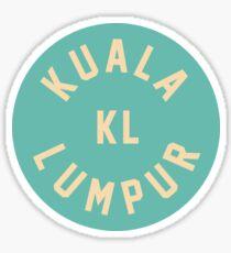 Kuala Lumpur - Malaysia Sticker
