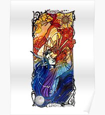 The Lover Tarot Youtube artist collective  Poster