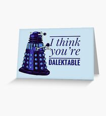 Doctor Who Dalek Valentine Greeting Card