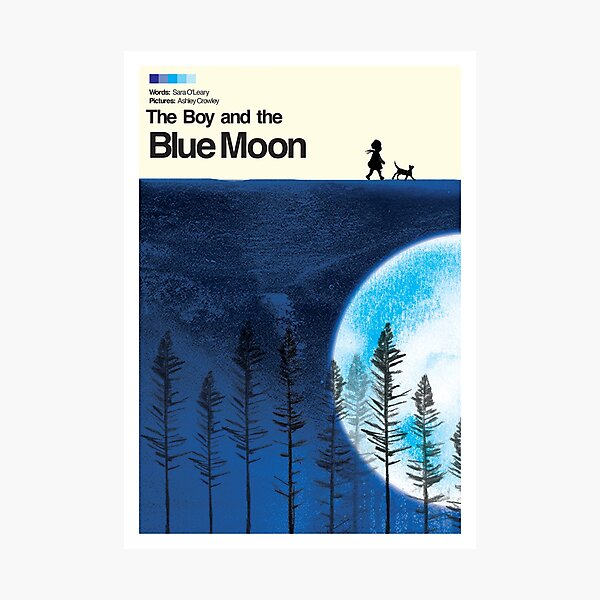 Blue Moon Movie Poster Photographic Print
