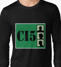 CI5 - The Professionals - Bodie & Doyle Long Sleeve T-Shirt