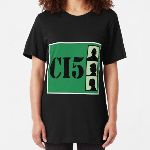 CI5 - The Professionals - Bodie & Doyle Slim Fit T-Shirt