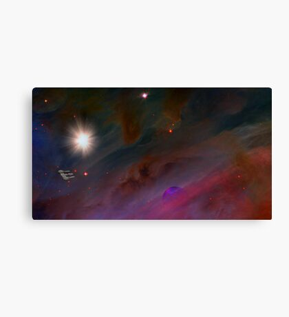 Nebula Voyage Canvas Print
