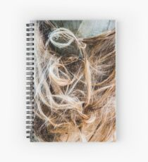 Capillary entanglement Spiral Notebook