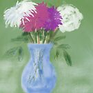 Impressionist Flowers by Trevor Armstrong