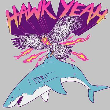 Hawk Yeah by wytrab8