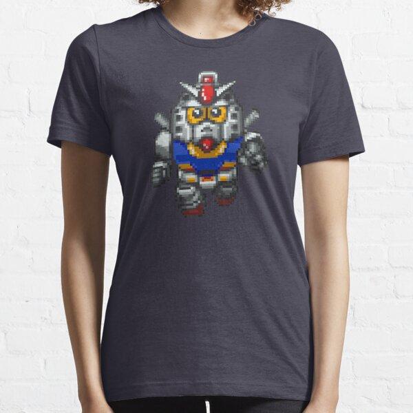 Gundam Pixels Camiseta esencial