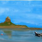 Holy Island by Trevor Armstrong