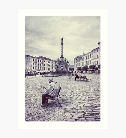 Olomouc city photo #Olomouc #photo #city Art Print