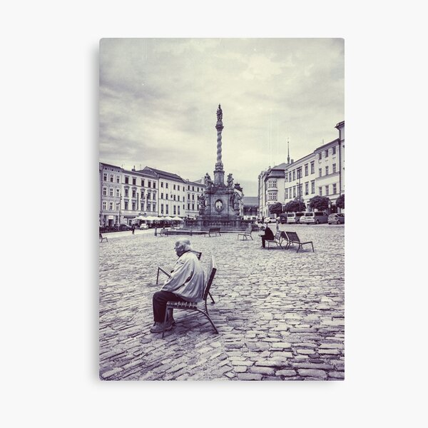 Olomouc city photo #Olomouc #photo #city Canvas Print