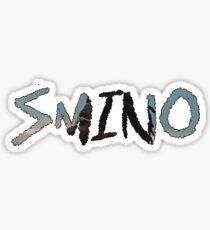 Smino Letters Graphic Sticker