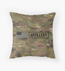 Military: Artillery Throw Pillow
