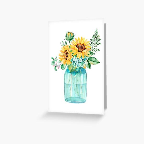 Einmachglas Grußkarte