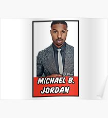 Michael B. Jordan Poster