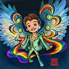 Proud Angel by alulawings