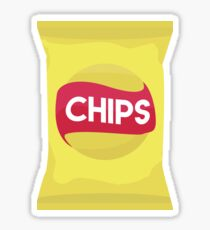 Potato Chips Sticker