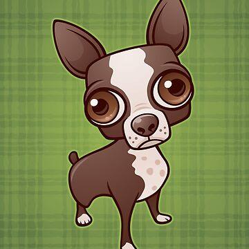 Zippy the Boston Terrier by fizzgig