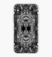 Forest Disaster BW iPhone Case