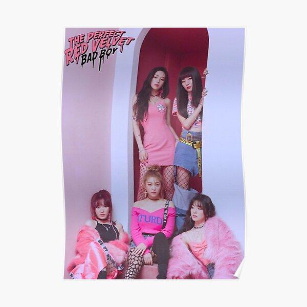 Red Velvet Bad Boy Poster