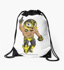 Mystery Luchador  Drawstring Bag