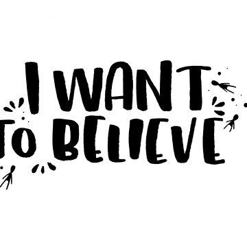 I Want To Believe by littleboegekaer