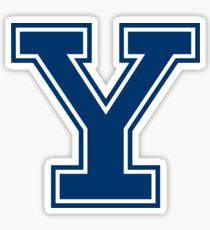 "Yale University ""Y"" (Classic Design) Sticker"