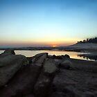 Lake Folsom at Sundown by Polly Peacock