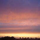 Twilight from the balcony by Daniela Cifarelli