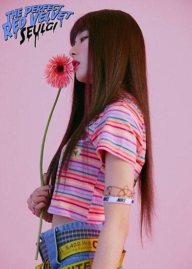 Quot Red Velvet Seulgi Bad Boy Quot Poster By Bananamillk Redbubble