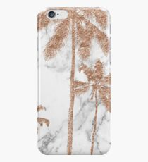 Rose gold marble palms iPhone 6s Case