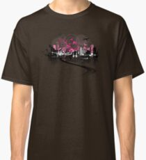 Cityscape background, urban art Classic T-Shirt